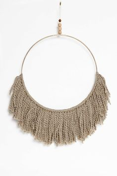 Natural Fringe Wall Hanging
