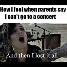then i lost it all | black veil brides and andy biersack