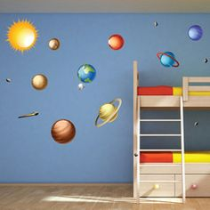Solar System Wall Decals Wallsneedlove