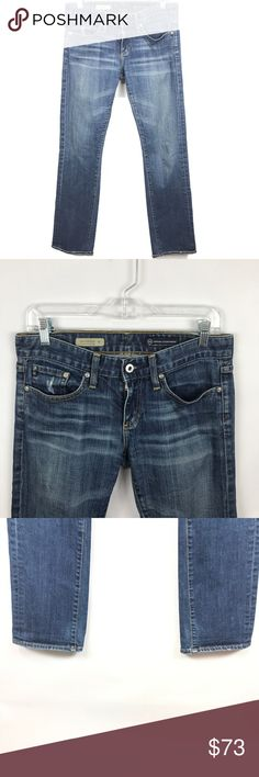 AG adriano goldschmied the tomboy relaxed Ag tomboy relaxed straight leg jeans in euc size 27 r    FYI 📌📌📌📌📌 Things to keep in mind when shopping my closet  ✔️  all item come from a smoke free pet free clean home ✔️ all items shipped same day or next day unless its Friday orders will go out Monday  ✔️ open to offers I do not use the private offer system  ✔️ discounts on bundles  ✔️posh ambassador Ag Adriano Goldschmied Jeans Straight Leg
