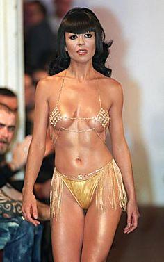 Fatima Lopes, Designer de moda Portuguesa com bikini de diamantes