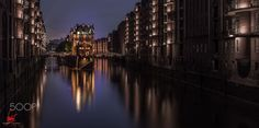 HAMBURG Wasserschloss - Long Exposure