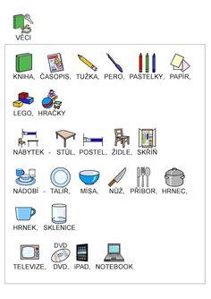 Fotka: Slovní zásoba - věci Grade 1, English Language, Teaching Kids, Homeschool, Education, Learning, Curiosity, Games, Sewing