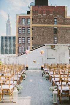 New York City loft wedding | Photo by Sylvia Photography | Read more - http://www.100layercake.com/blog/?p=68388