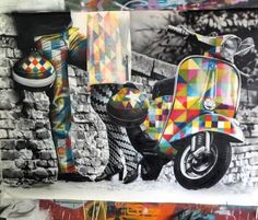 Streetart by Eduardo Kobra