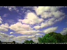 Adelaide weather time Lapse  Thu 07 04 2016