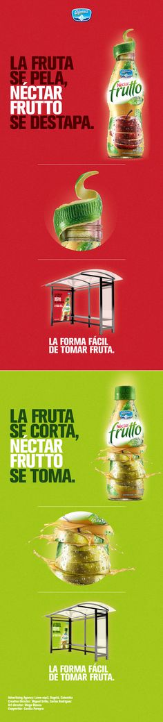 Campaña Néctar Frutto 2015 on Behance