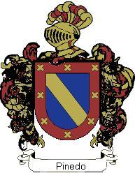 Pinedo escudo | Escudo del apellido Pinedo