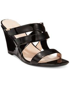 Calvin Klein Women's Nona Wedge Sandals