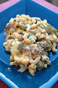 Cheesesteak Casserole...wonderful..easy.......Velveeta cheese..belpeppers..onions