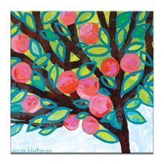 Red Apple by Anna Blatman   Artist Lane