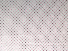 Red & White Heart Fabric - My Valentine by RJR 2006 - Quality Cotton  - 1 Yard only