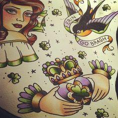 tattoo ideas on Pinterest | Claddagh Tattoo, Kandinsky and Joan Miro