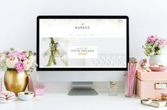 Market // A Feminine Genesis Theme by Restored 316 on @creativemarket