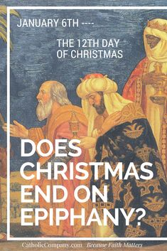 We all know that Christmas officially begins on Christmas Eve, but when does Christmas end?