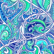 Tangled Paisley Blues by edsel2084