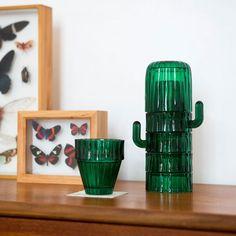 Service de verres Cactus Saguaro - DOIY