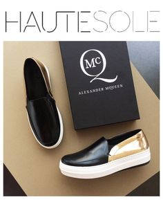 3ff26e58a33a ALEXANDER MCQUEEN BLACK   GOLD EDITION ✨✨✨✨✨✨✨✨✨✨✨✨✨✨✨  HAUTESOLEMAGAZINE   HAUTESOLE  Fashion  Footwear  Shoes  style  stylish  sneakers ...