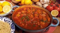 Sweet and easy Moroccan tagine