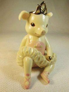 Happy New Year Pig Figurine | New Years