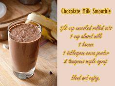 Chocolate Milk Smoothie
