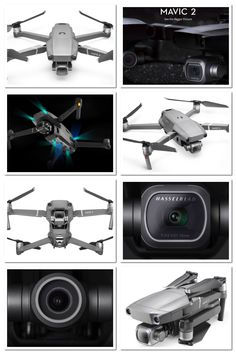 New DJI Mavic 2 Pro and Mavic 2 Zoom just released. Obstacle detection and collision avoidance on all sides. New cameras including a zoom camera all designed by Hasselblad Mavic Drone, Dji Drone, Phantom 4 Drone, Drone Technology, Drone Photography, Cameras, In This Moment, Product Design, Dreams