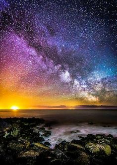 Colours Of The Milky Way - Steephill Cove                              …