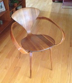 Vintage 1960's Norman Cherner Armchair Mid by Dead50sModern, $845.00