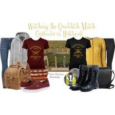 Watching the Quidditch Match