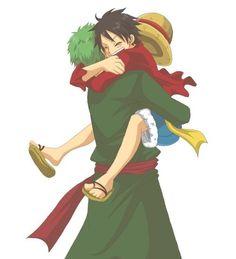 Roronoa Zoro x Monkey D. Luffy