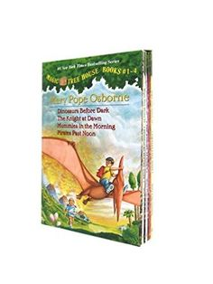 Magic Tree House Boxed Set, Books 1-4: Dinosaurs Before Dark, The Knight at Dawn, Mummies in the Morning, and Pirates Past Noon by Mary Pope Osborne