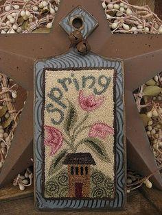 """Spring Cottage"" Hornbook by magpie1217"