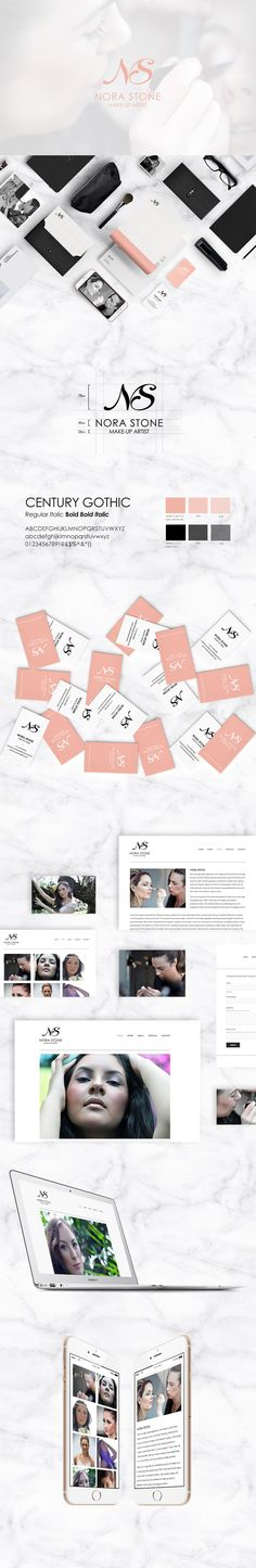 The brief was to create an identity for make-up artist Nora Stone, a well renowned artist in New York City. The logo itself represents her creativity but also the professionalism she strives for. I took a detailed look into the combination of two letters to create one identity with a custom script font to create a dynamic shape.