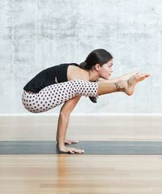 Firefly Pose - Tittibhasana   3 Gorgeous Ladies, 3 Yoga Poses, 9 Jaw-Dropping How-Tos via Refinery 29 #yogaposes #YoYoYoga-PosesandRoutines