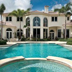 Wunderschöne Villa in #Miami...nach deinem #Jackpot #Gewinn im Lottoland kein Traum mehr sondern Wirklichkeit :)  Gewinne auf www.Lottoland.com