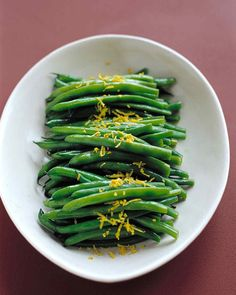 With a touch of lemon zest and juice, these green beans will take center stage.