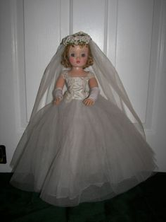 I had a bride doll...my brother stuck its head in the kitchen sink...totally ruined it!
