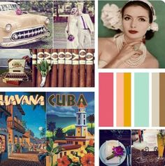Cuban wedding collage