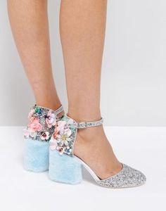 Туфли на каблуке ASOS PAPARAZZI