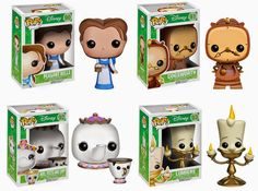 funko pop disney series beauty and the beast - Google Search