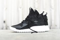 new concept e4cc2 f27ff adidas Originals Tubular X (Carbon Black) - Sneaker Freaker. Calzas ZapatosHombresModa ...