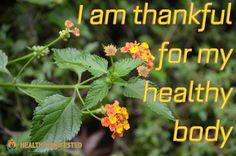 I am thankful for my healthy body - Health Manifested  #healthmanifested #thankful4body #lovehealth  #Mindset #Success #Inspire #ThinkBig #Believe #Motivate #instamotivation #life #LOA #lawofattraction #power #motivation #inspiration #quotes #dreams #morningmotivation #hope #havemotivation #onlymotivation #IAm #raiseyourvibrations #mindbodyspirit #mindbodysoul   #healthyhappylife #wellnessjourney #nourishyourself #fitforme #justbreathe #lookwithin #inspirationdaily