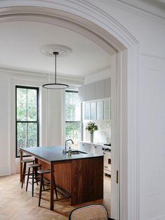 Swedish Kitchen, New Kitchen, Kitchen Decor, Kitchen Design, Kitchen Modern, Kitchen Colors, Interior Windows, Kitchen Trends, Kitchen Ideas