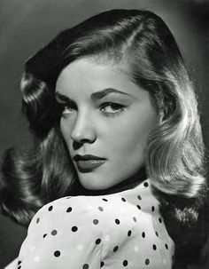 Pioneer of the power brow. | 39 Unbelievably Radiant Pictures Of Lauren Bacall