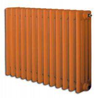 Traffic Orange (RAL2009) 300 x 904 3 Column Horizontal Radiator