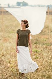 Ravelry: Linum Tee pattern by Bristol Ivy