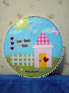 Creative Wall Decor Just love the color.. Made from Tampi, traditional whinowing basket from Indonesia