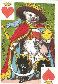 K♥ Deck: Cartes Comiques. Germany. Made: B. Dondorf. Date: 1860.