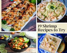 Shrimp Casserole, Twice Baked Potatoes Casserole, Grilled Shrimp Recipes, Seafood Recipes, Appetizer Recipes, Dinner Recipes, Appetizers, Baked Turkey Legs, Cooking On The Grill