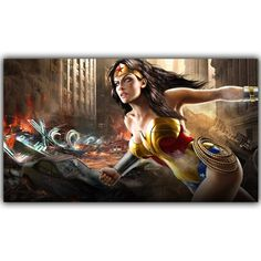Wonder Woman Marvel Comics DC Comics Superheroes Poster For Home Decoration Silk Canvas Fabric Print Poster DY1068 //Price: $7.02 & Always FREE Shipping World Wide//     A Fan's Must Have    Welcome to My Store! If you want other size / material or you have any problem about the  product please don't hesitate to contact us.   It's my pleasure to serve you!! We also can customize poster(wall sticker) for you. If you need a personalized unique one, please send us your favorite pictures…